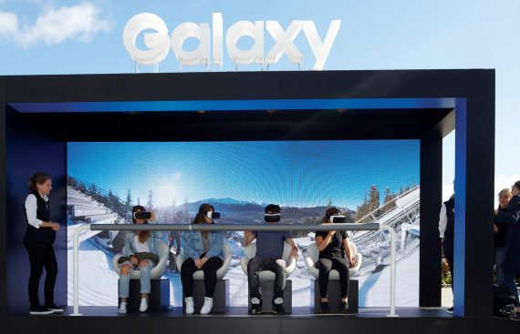 Samsung Gear VR Experiential marketing