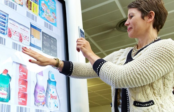shopper marketing tesco scan interactive