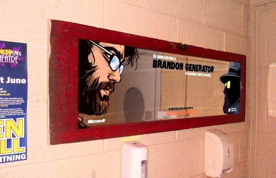 Washroom Vinyls