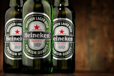 heineken bottles experiential marketing campaign