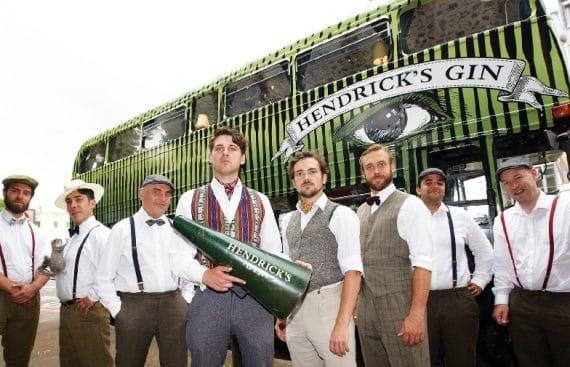 Hendricks gin bus