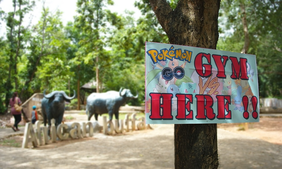 Pokemon Go sign