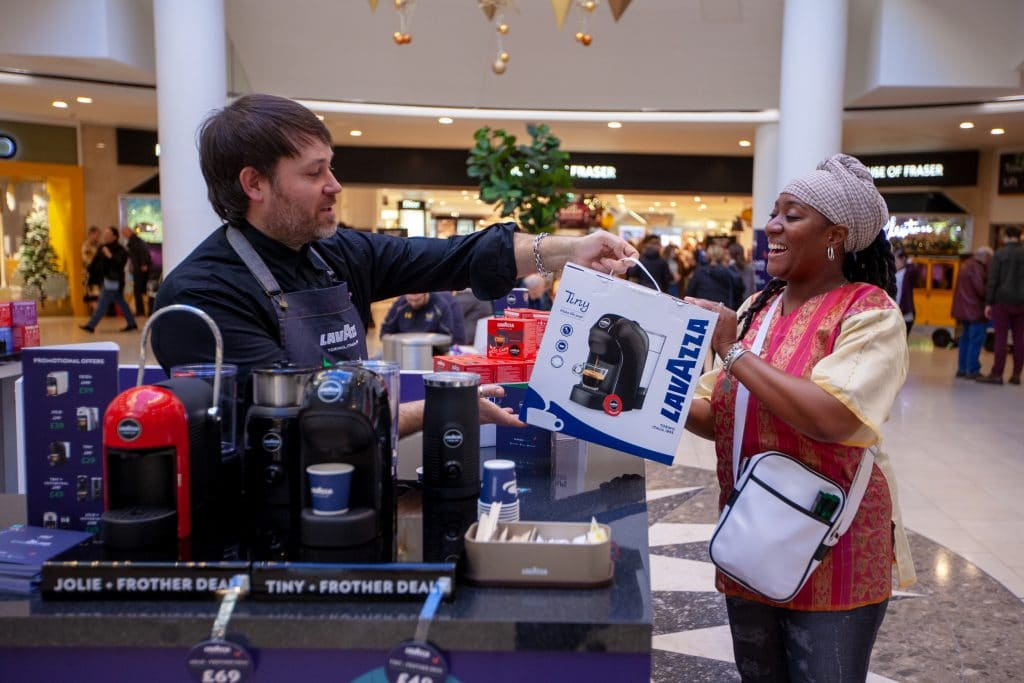 Lavazza Pop-up sales Lakeside Shopping Centre
