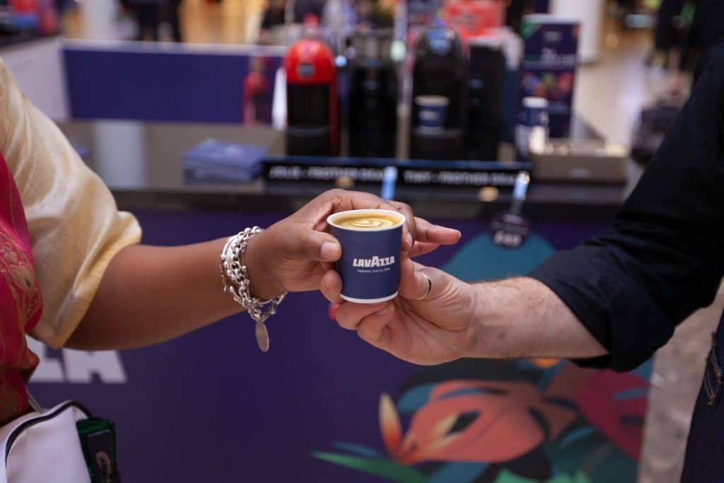 Lavazza Pop-up shop Lakeside Shopping Centre